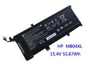 Genuine HP MB04XL Laptop Battery 3470mAh, 55.67Wh , 15.4V, Black , Li-ion
